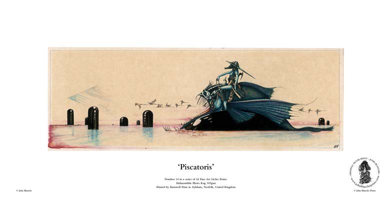 John Blanche Prints No. 14 > Piscatoris