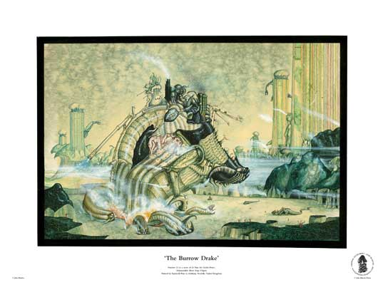 The Burrow Drake by John Blanche