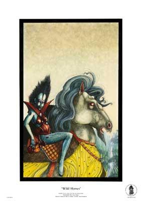 Wild Horses by John Blanche