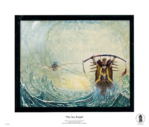 The Sea People | No. 12 of 24 Giclée Fine Art John Blanche Prints