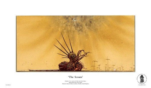 The Scoam | No. 17 of 24 Giclée Fine Art John Blanche Prints