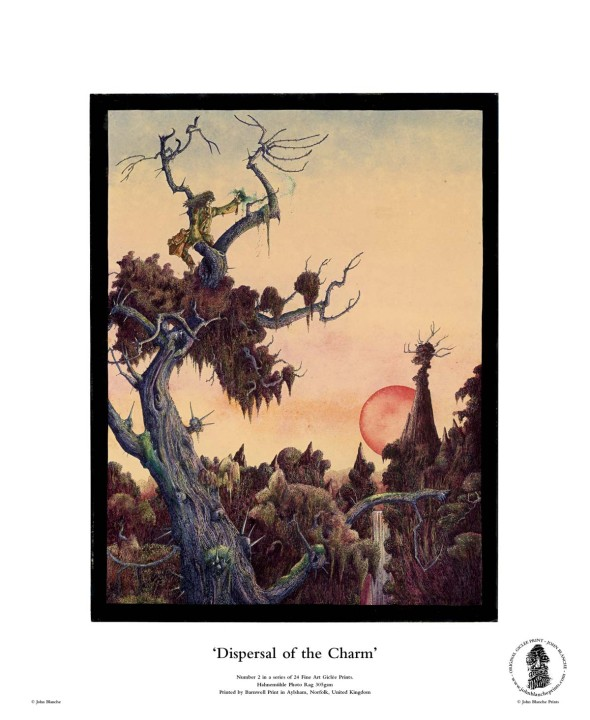 Dispersal of the Charm | No. 2 of 24 Giclée Fine Art John Blanche Prints