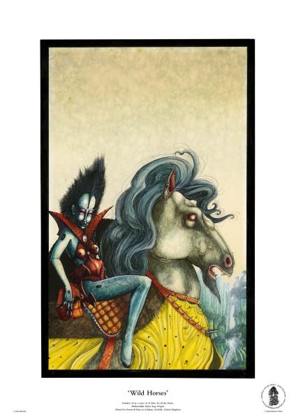 Wild Horses | No. 20 of 24 Giclée Fine Art John Blanche Prints