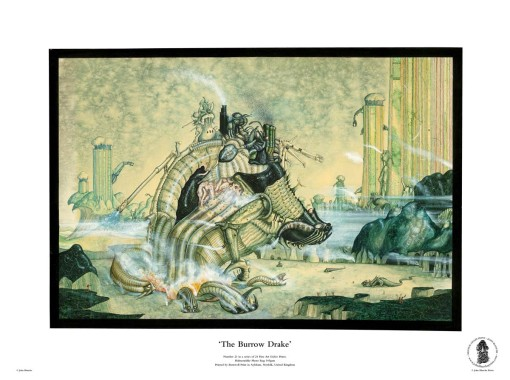 The Burrow Drake | No. 21 of 24 Giclée Fine Art John Blanche Prints