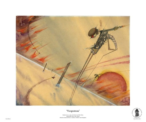 Vespotron | No. 22 of 24 Giclée Fine Art John Blanche Prints