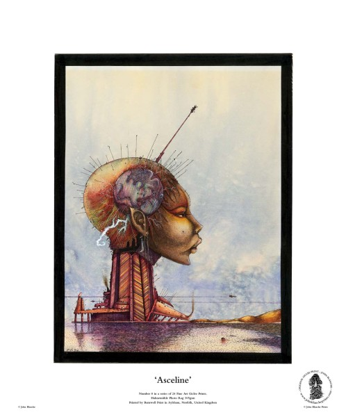 Asceline | No. 8 of 24 Giclée Fine Art John Blanche Prints
