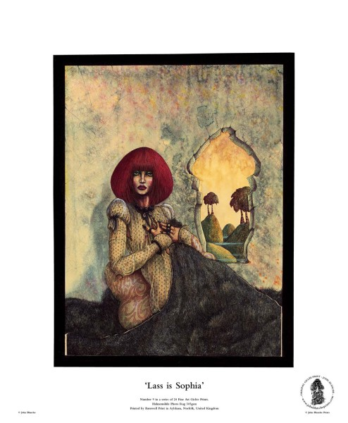 Lass is Sophia | No. 9 of 24 Giclée Fine Art John Blanche Prints
