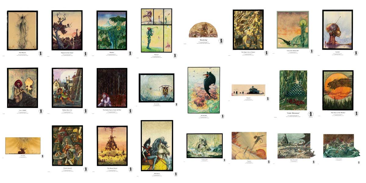 The Complete John Blanche Prints Collection