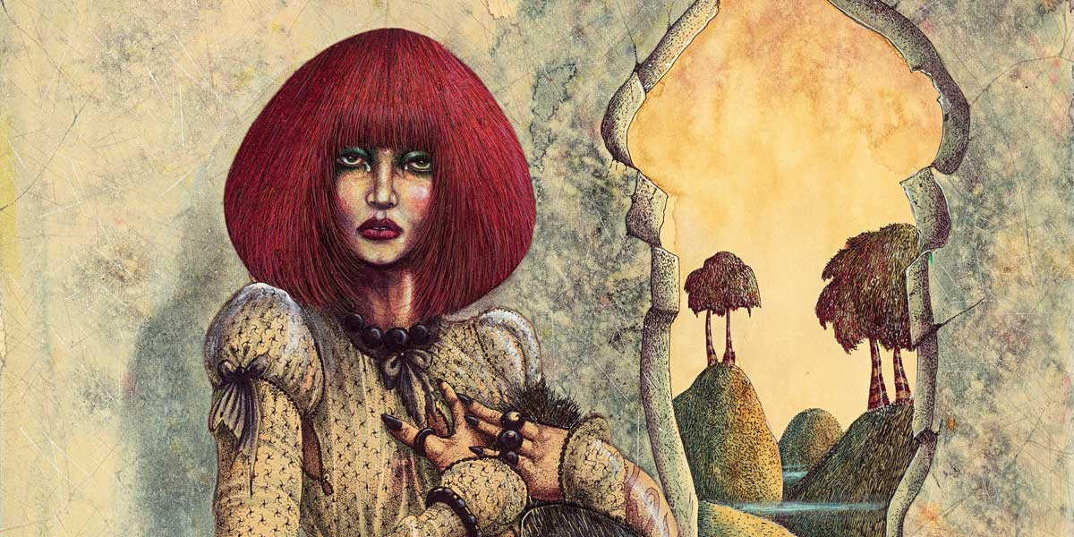Section of The Lass is Sophia by John Blanche