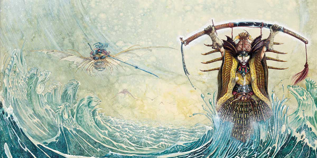Section of The Sea People by John Blanche